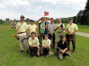 Feldbogenteam des BC Keltenschanze